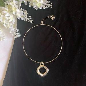Silver Choker Necklace Trifari